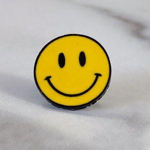 Smiley Face 😊 Enamel Pin/ Brooch